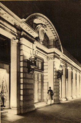 "Photograph of the front of Army and Navy Co-operative stores, from ""Utopian shopping"" booklet, c1920s"