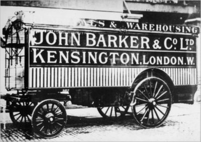 John Barker's and Co., Kensington, delivery van, 1912.