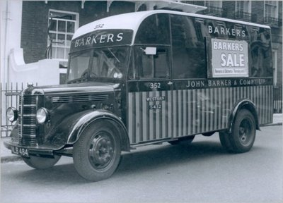 John Barker's and Co., Kensington, delivery van, 1959.